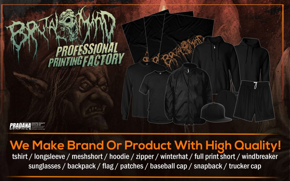 NEED PRODUCT FOR YOUR BAND OR LABEL? WE CAN DO IT !
