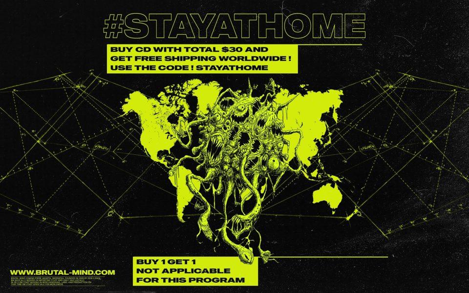 CODE : STAYATHOME