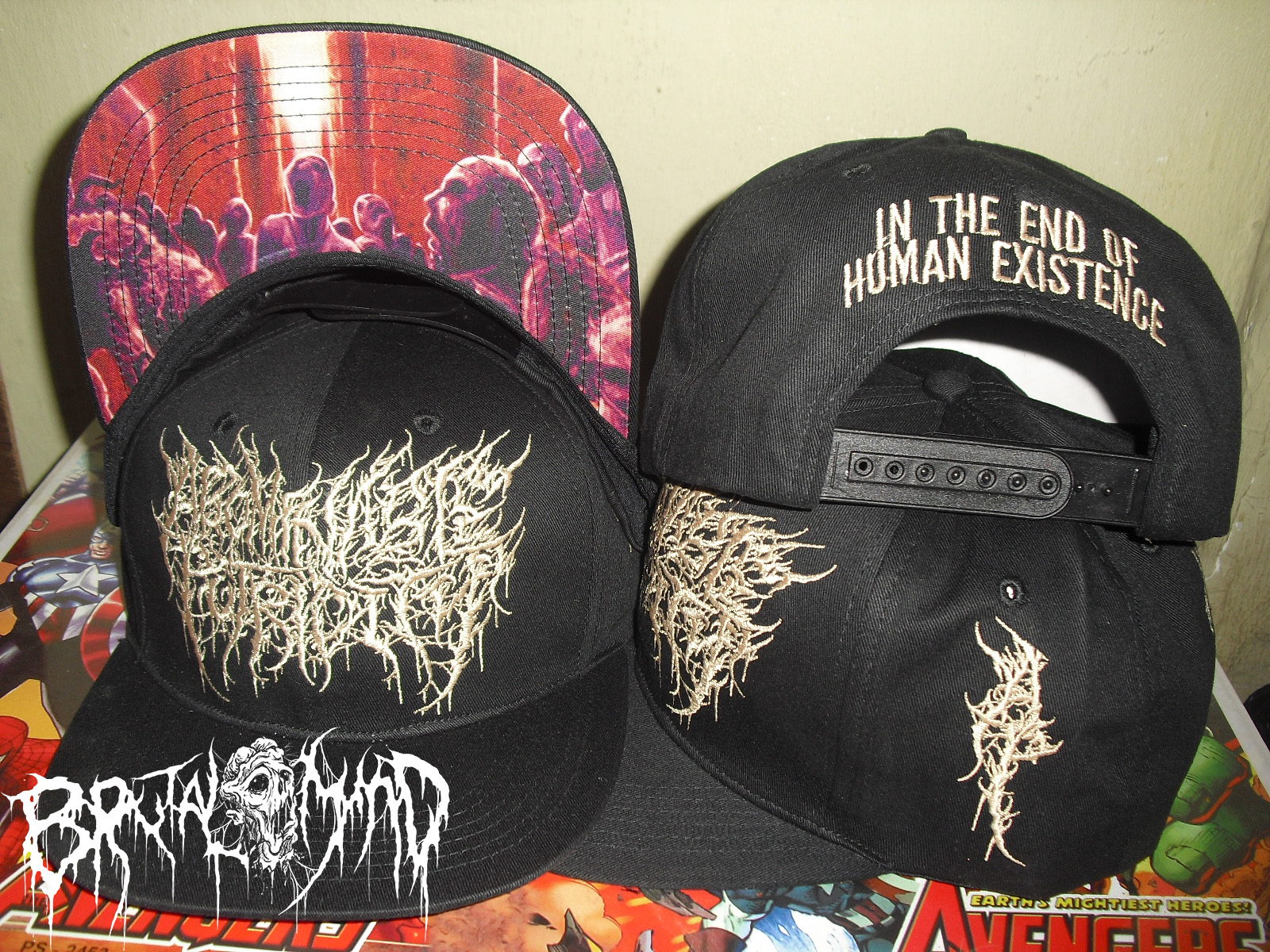 Snapback ABOMINABLE PUTRIDITY In The End Of Human Existence (Brown)