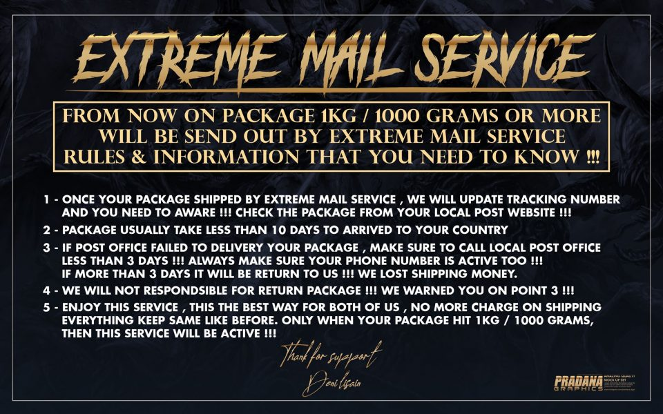 EXTREME MAIL SERVICE !!!