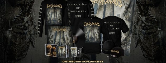 DISAVOWED – REVOCATION OF THE FALLEN , PRE ORDER UP NOW!