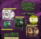 PACKAGE DEAL – GUTTURAL SLUG – 3 CD + 1 Patches