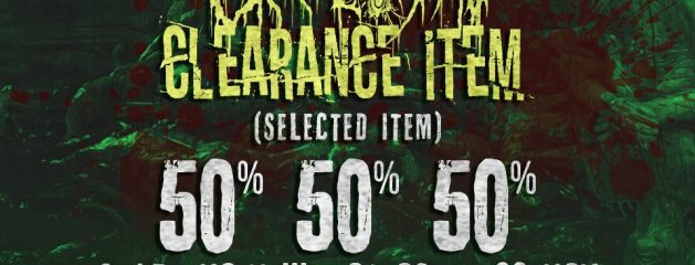 CLEARANCE SALE 50% !!! CHECK OUR CATEGORY !!!