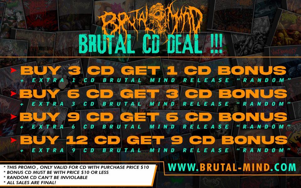 BRUTAL CD DEAL !