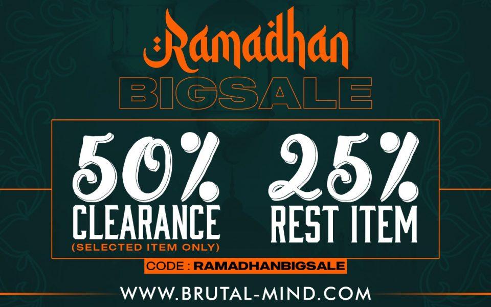 RAMADHAN BIGSALE !!!