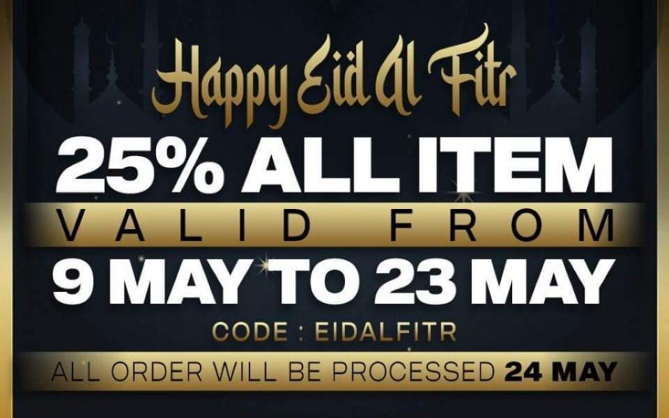 HAPPY EID AL FITR , BRUTAL FREAKS !!!