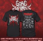 PRE-ORDER – TS – GORE INFAMOUS – LIVE AT ASAKUSA DEATHFEST 2018 (GREY)